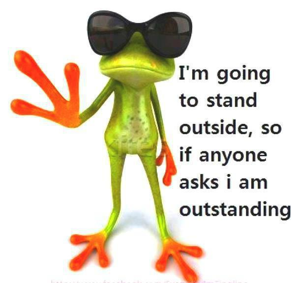 outstanding frog