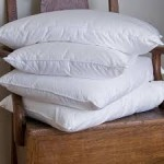 The leaning tower of pillows