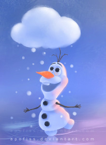 No credit source for image of Olaf so don't sue me okay!