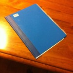 The blue folder.  Part 1
