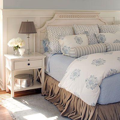 Cream and White Bedroom